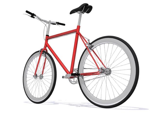mountain bike 3 3d model max fbx 223058