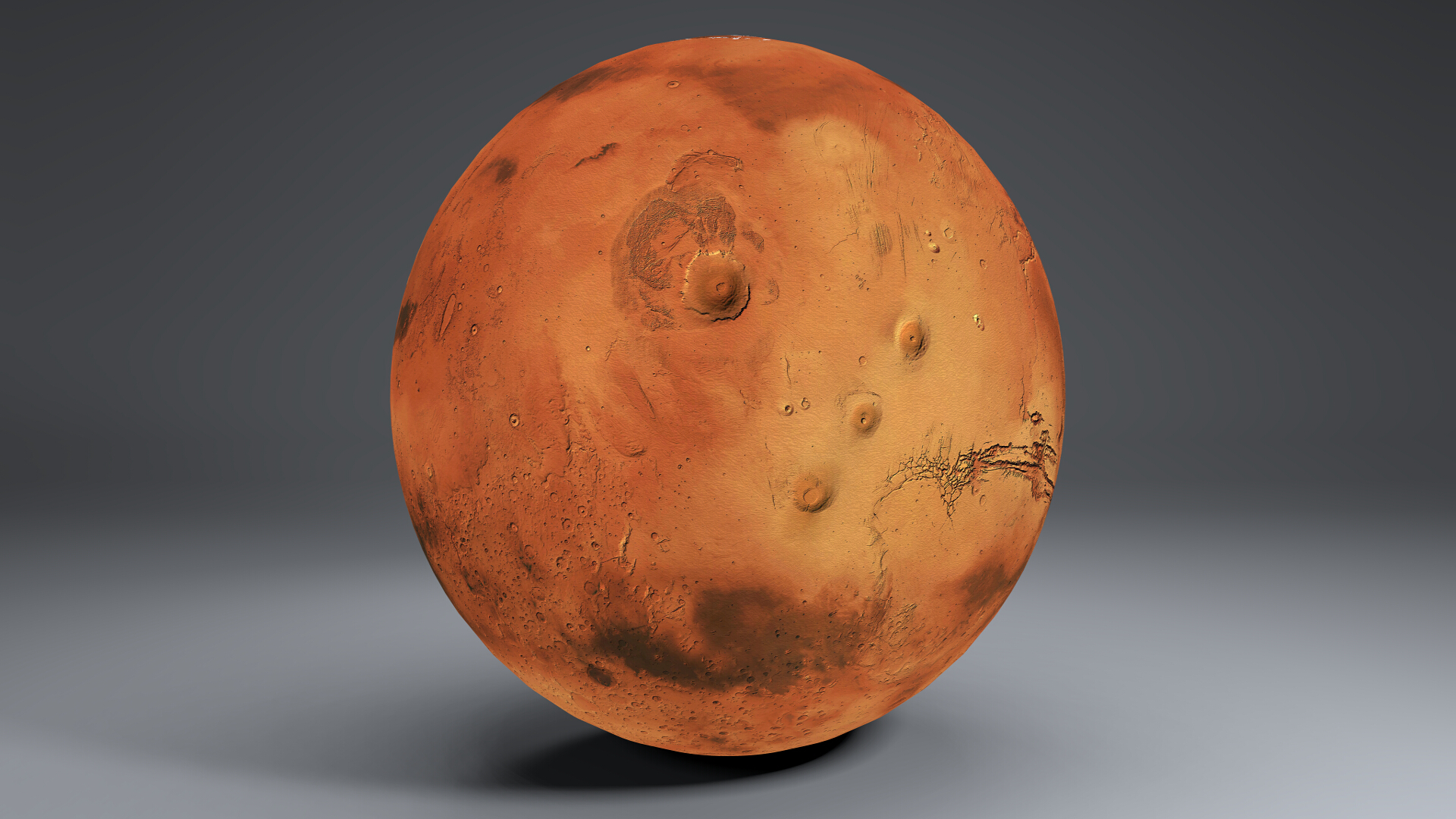 Mars 8k Globe 3d model 3ds fbx blend dae obj 223126