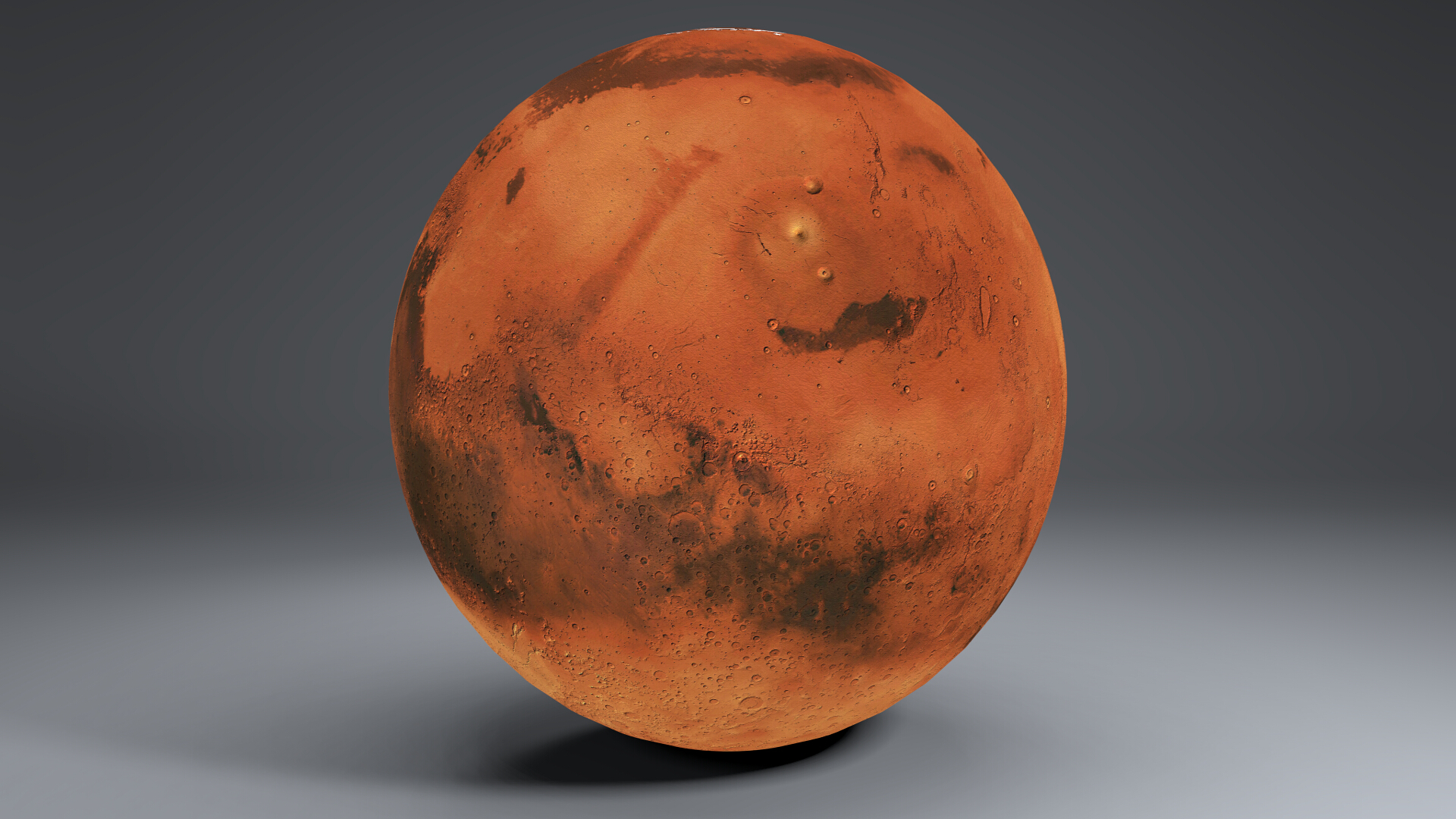 Mars 8k globe 3d model 3ds fbx qarışığı da 223127
