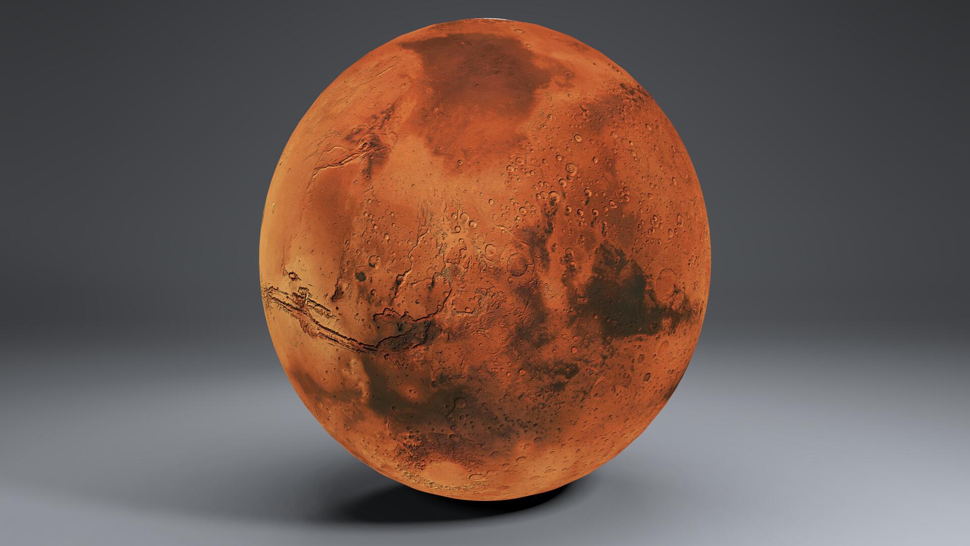 Mars 8k globe 3d model 3ds fbx qarışığı da 223128
