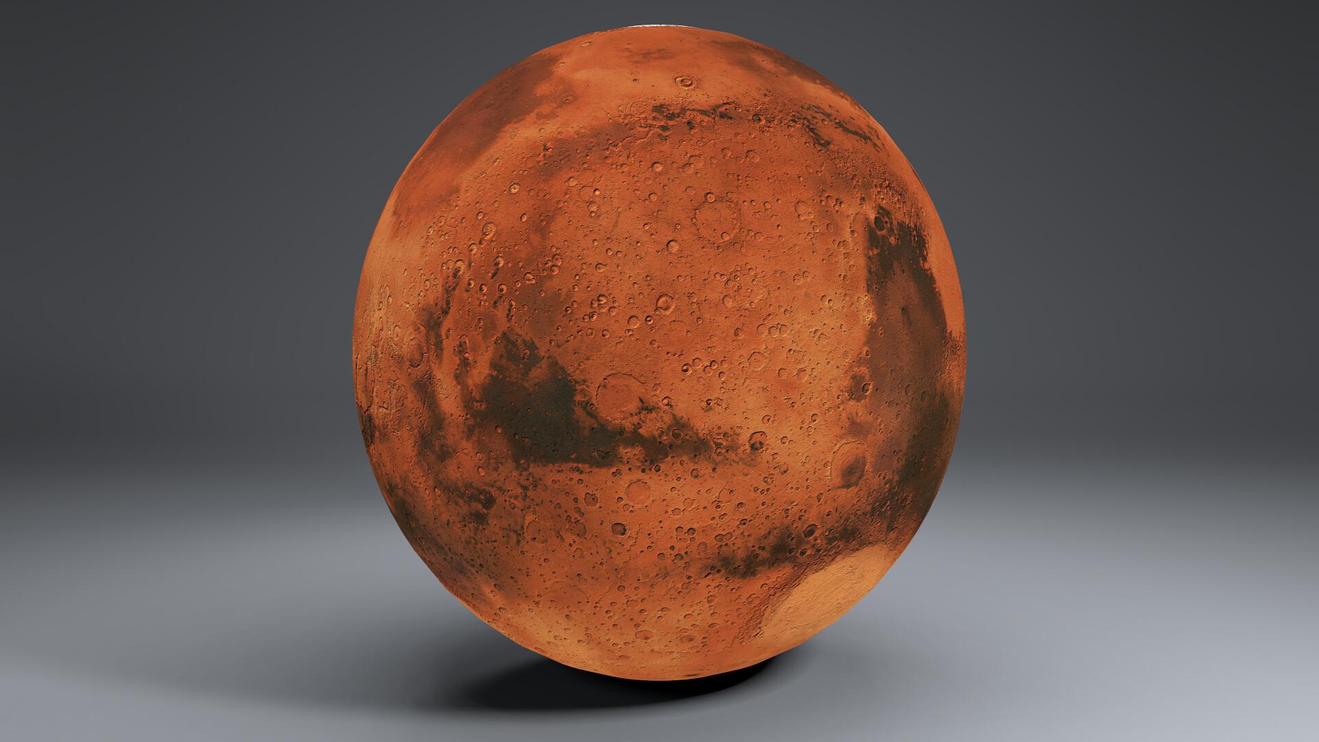 Mars 8k globe 3d model 3ds fbx qarışığı da 223129