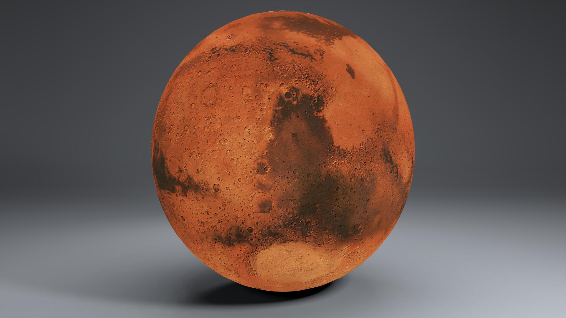 mars 8k globe 3d model 3ds fbx blend dae obj 223130