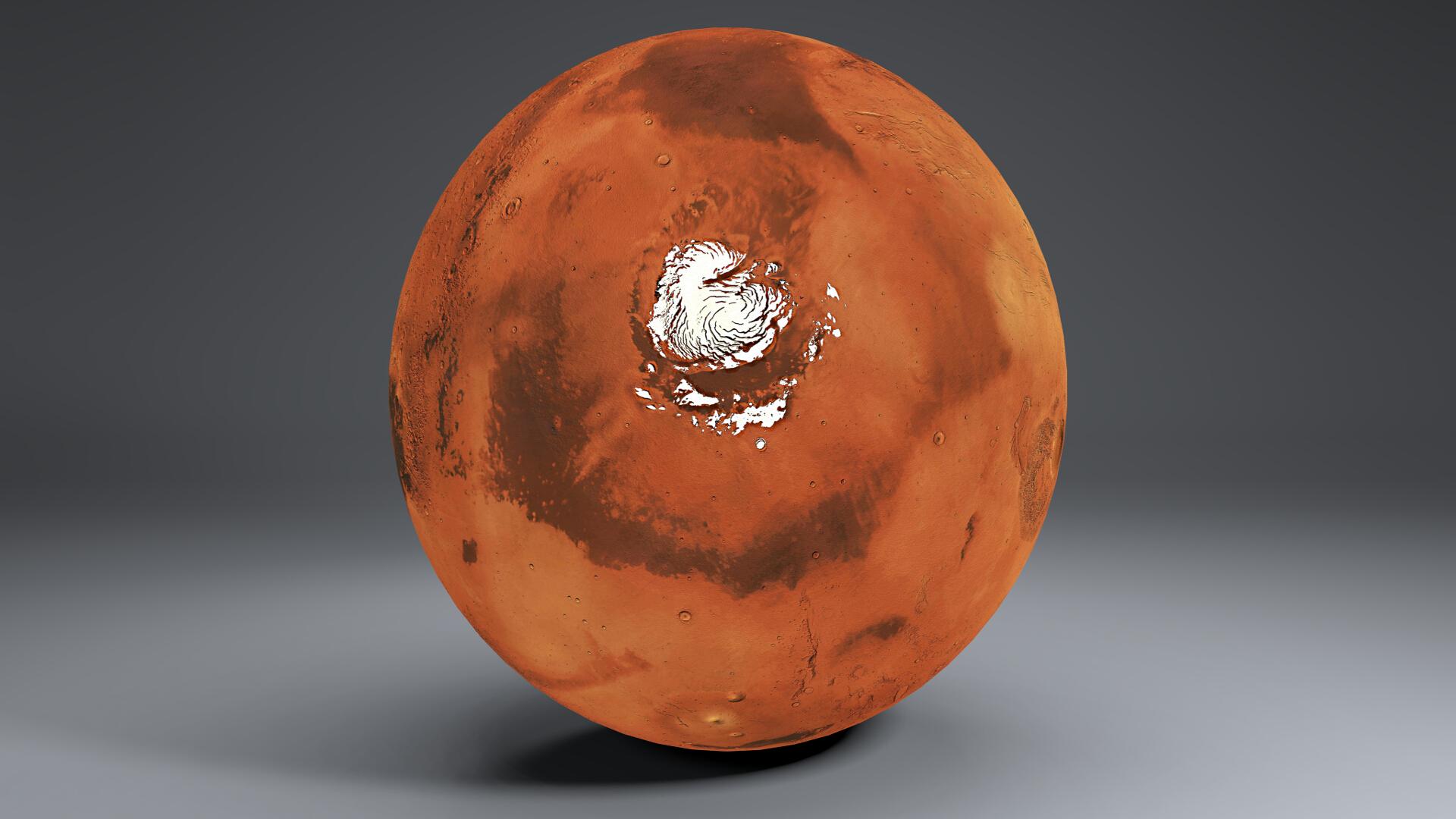 Mars 8k globe 3d model 3ds fbx qarışığı da 223132