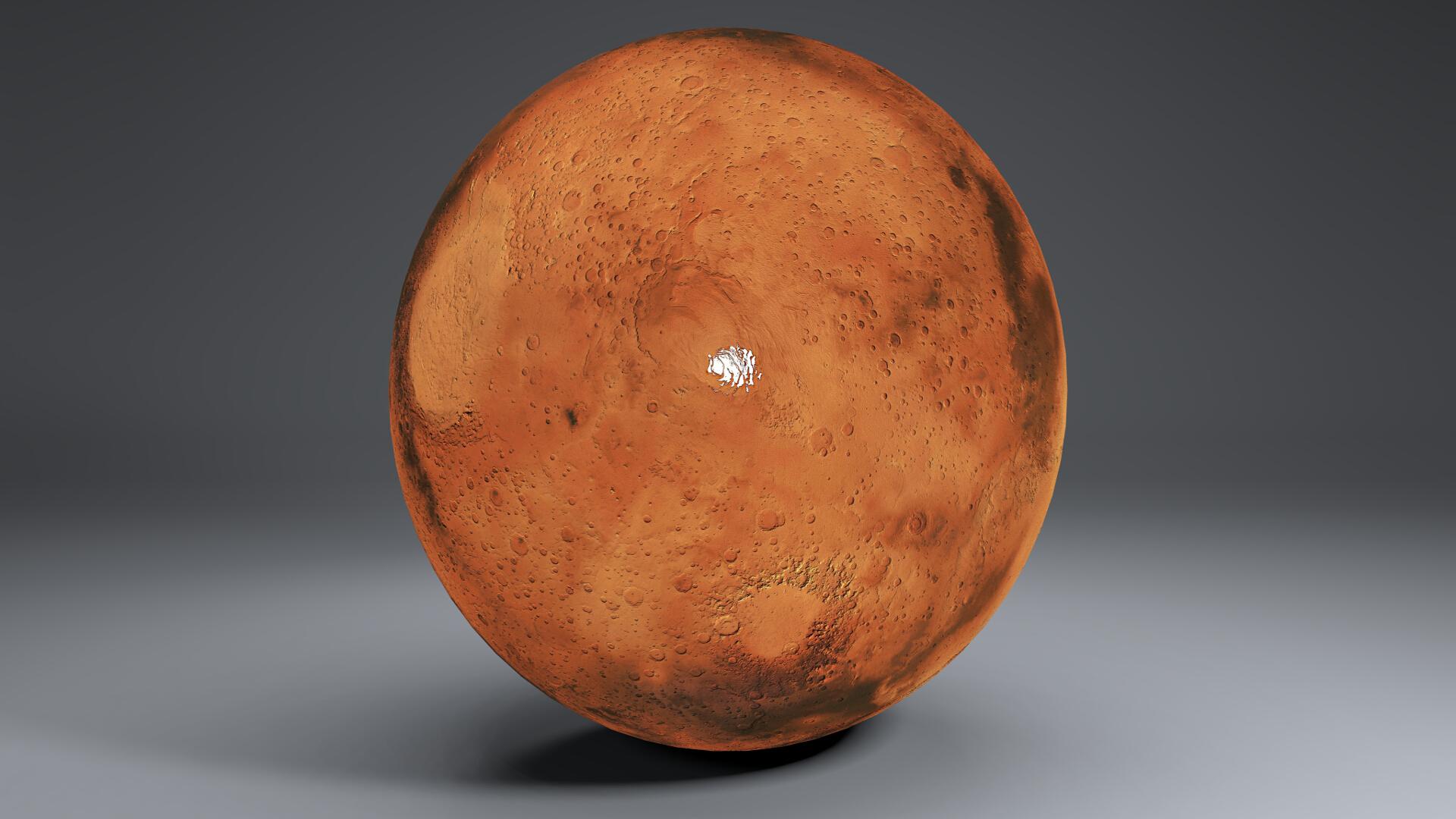 mars 8k globe 3d model 3ds fbx blend dae obj 223133
