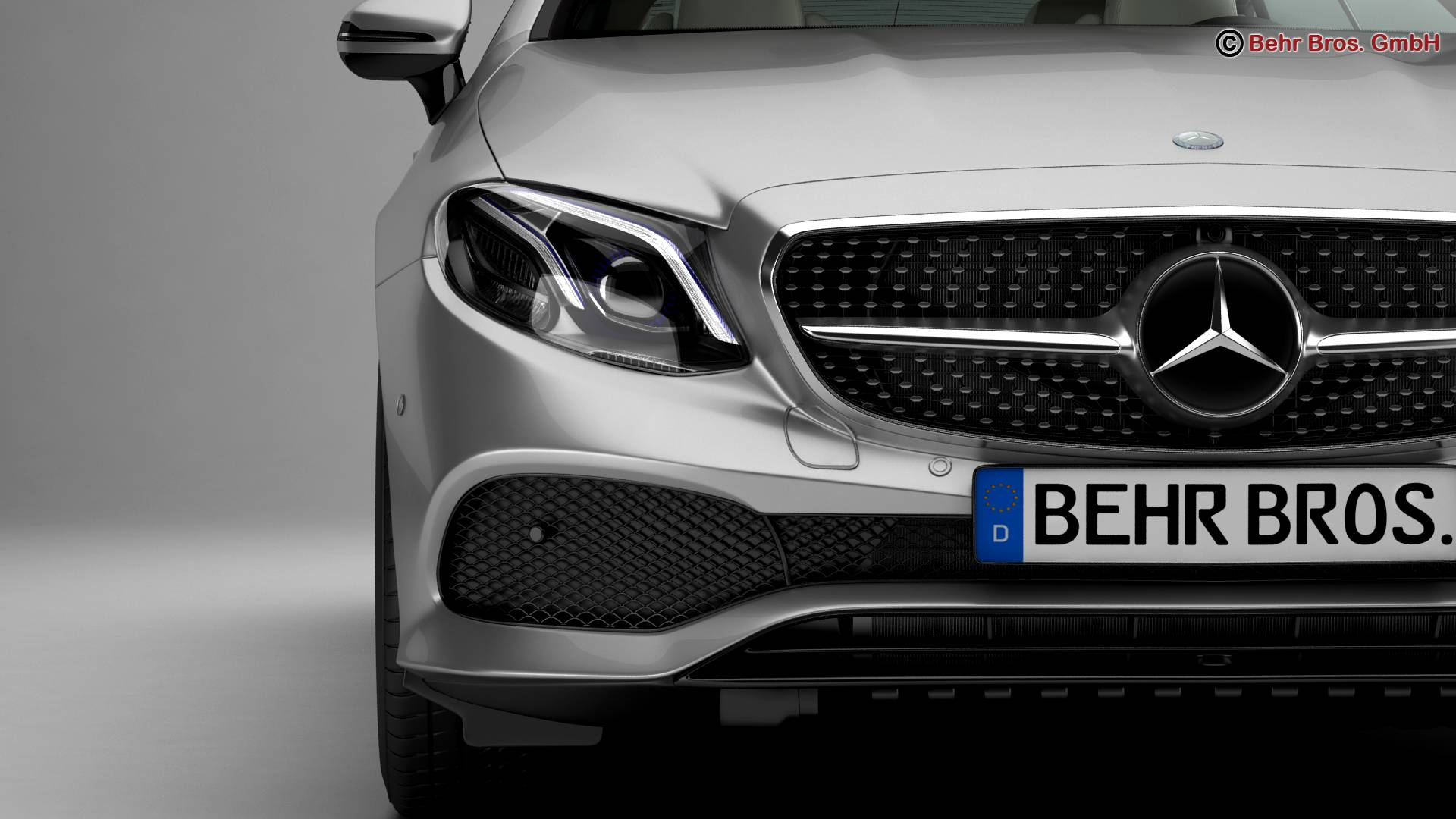 mercedes e class coupe 2017 3d model 3ds max fbx c4d lwo ma mb obj 223251