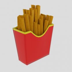French Fries Cup ( 81.48KB jpg by banism24 )