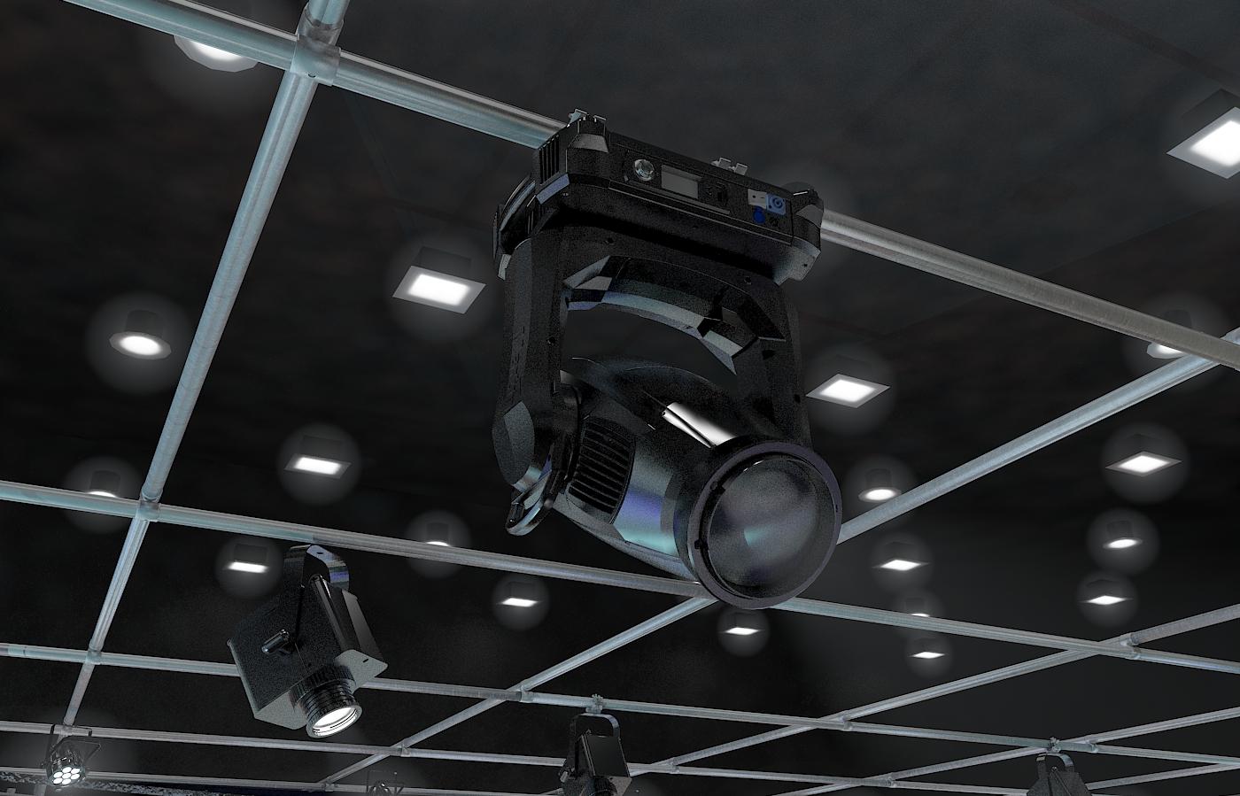 виртуал телевизийн студи мэдээ багц 1 3d загвар max dxf fbx c4d obj 223311