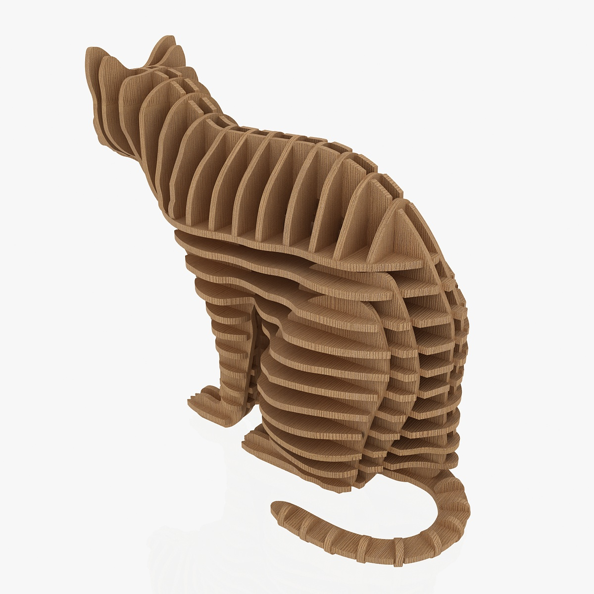 teka-teki kucing 1 3d model 3ds max dxf dwg fbx dae obj 223464