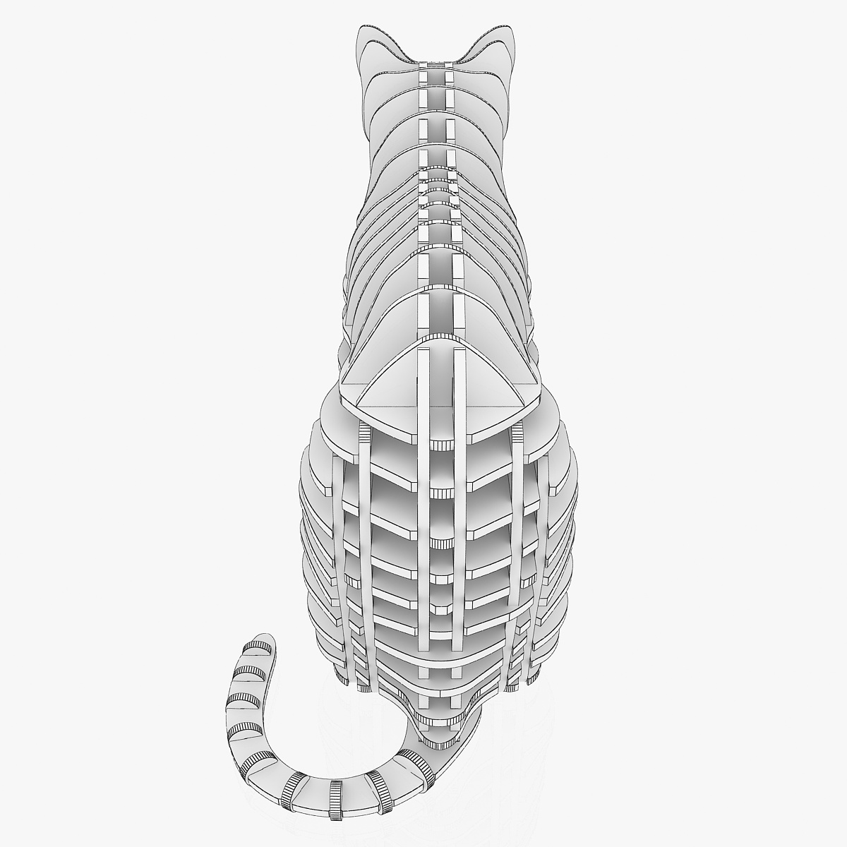 teka-teki kucing 1 3d model 3ds max dxf dwg fbx dae obj 223467