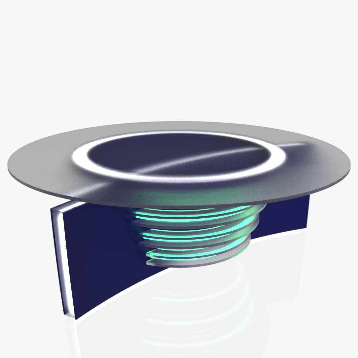 Virtual Home Design Studio: Virtual Tv Studio News Desk 6 3D Model