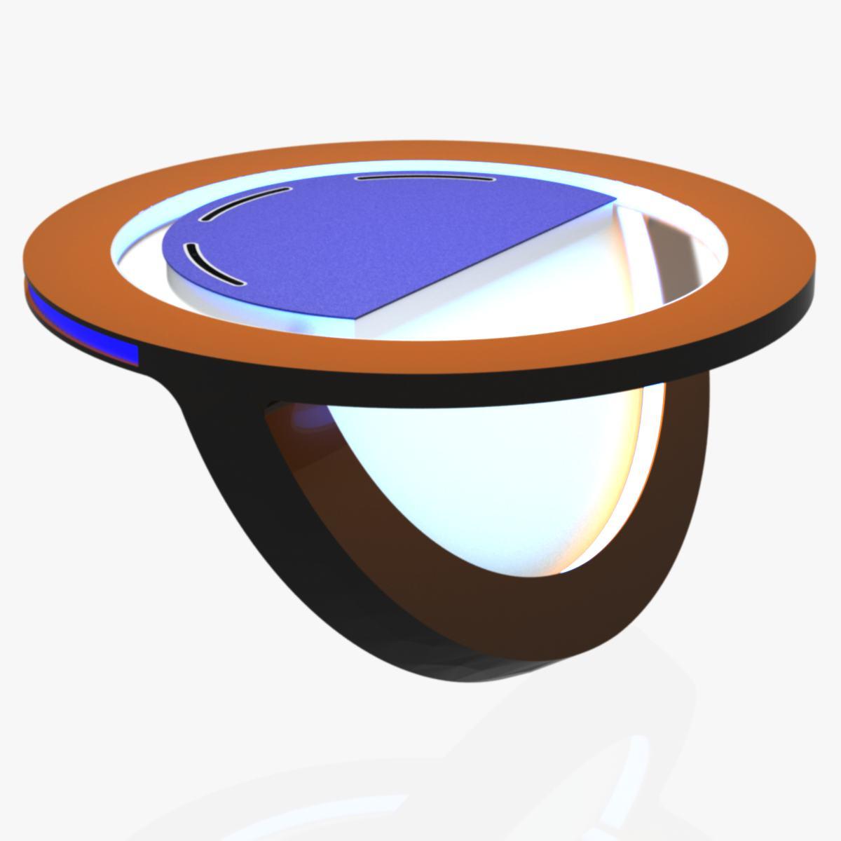 Virtual Tv Studio News Desk 10 3d Model Architecture 3d Models  # Meuble Tv Nesx