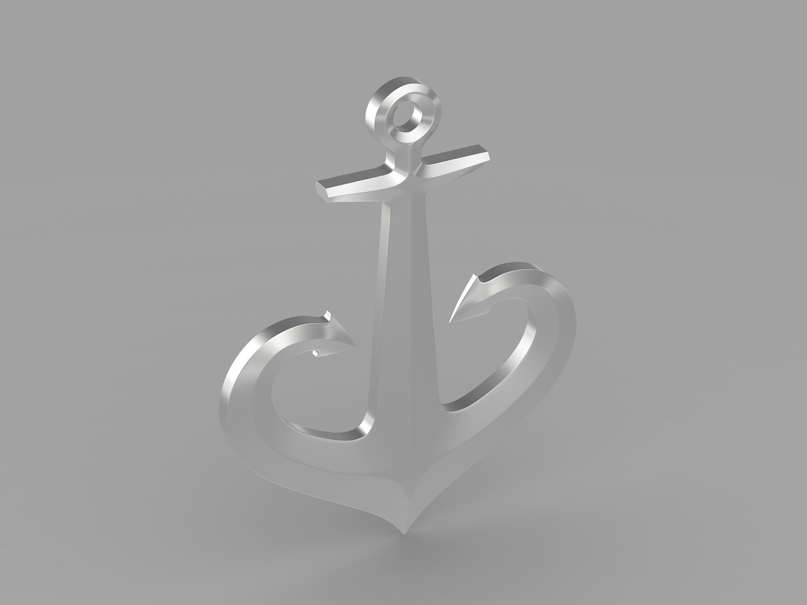 anchor 1 3d model 3ds fbx c4d lwo ma mb hrc xsi obj 223617