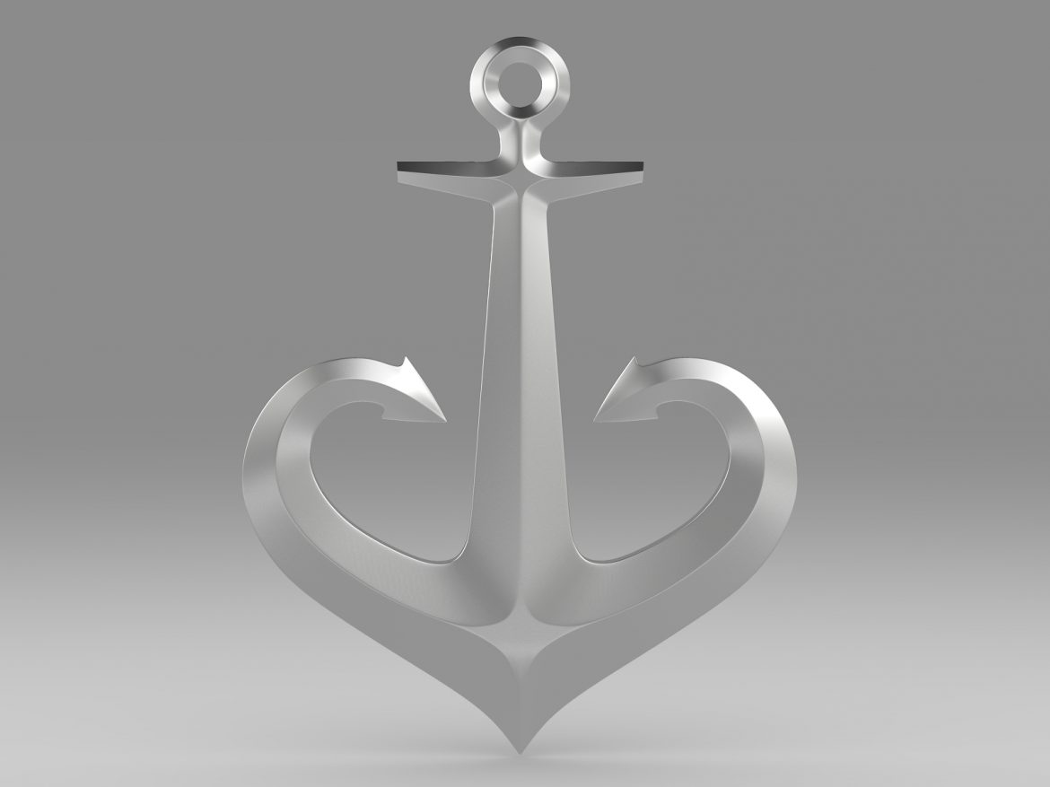 anchor 1 3d model 3ds fbx c4d lwo ma mb hrc xsi obj 223618