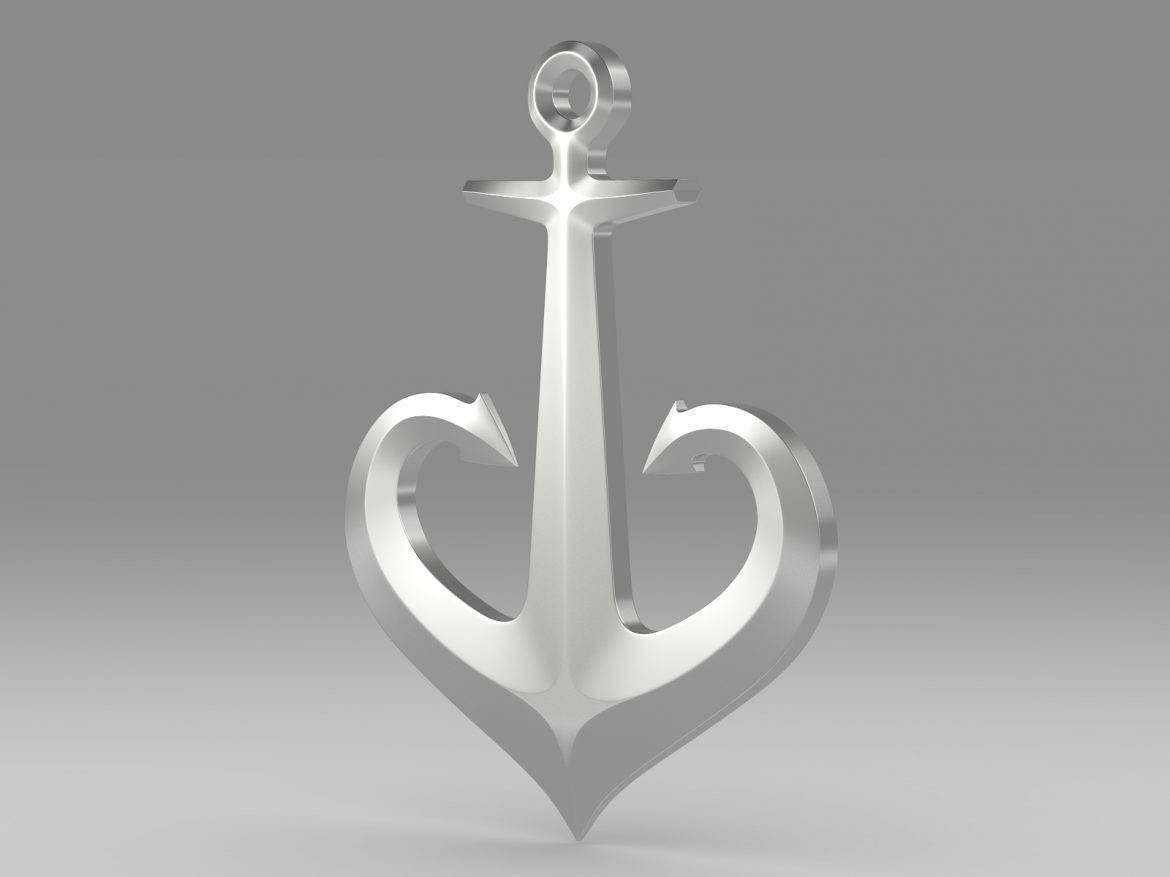 anchor 1 3d model 3ds fbx c4d lwo ma mb hrc xsi obj 223619
