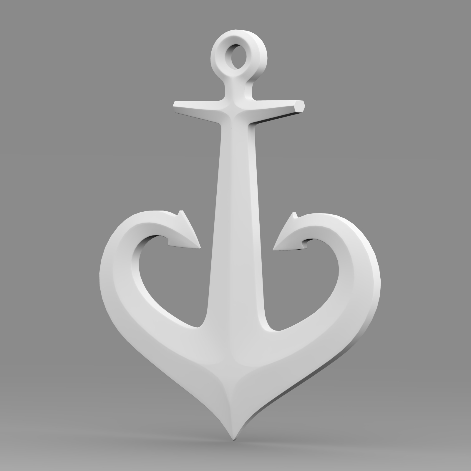 anchor 1 3d model 3ds fbx c4d lwo ma mb hrc xsi obj 223621