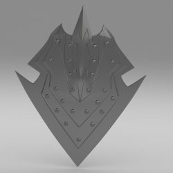 Orcish shield ( 452.66KB jpg by stiv )