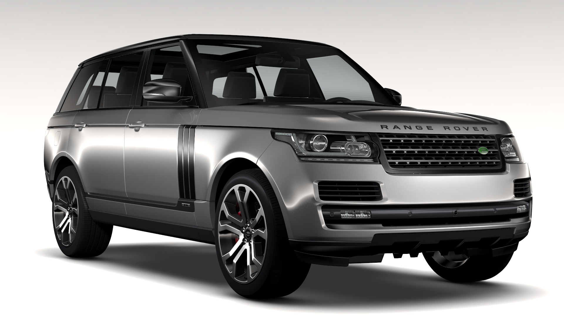 range rover svautobiography dynamic lwb 2017 3d model. Black Bedroom Furniture Sets. Home Design Ideas