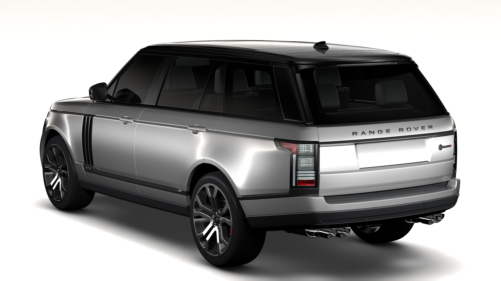 range rover svautobiography dynamic lwb 2017 3d model flatpyramid. Black Bedroom Furniture Sets. Home Design Ideas