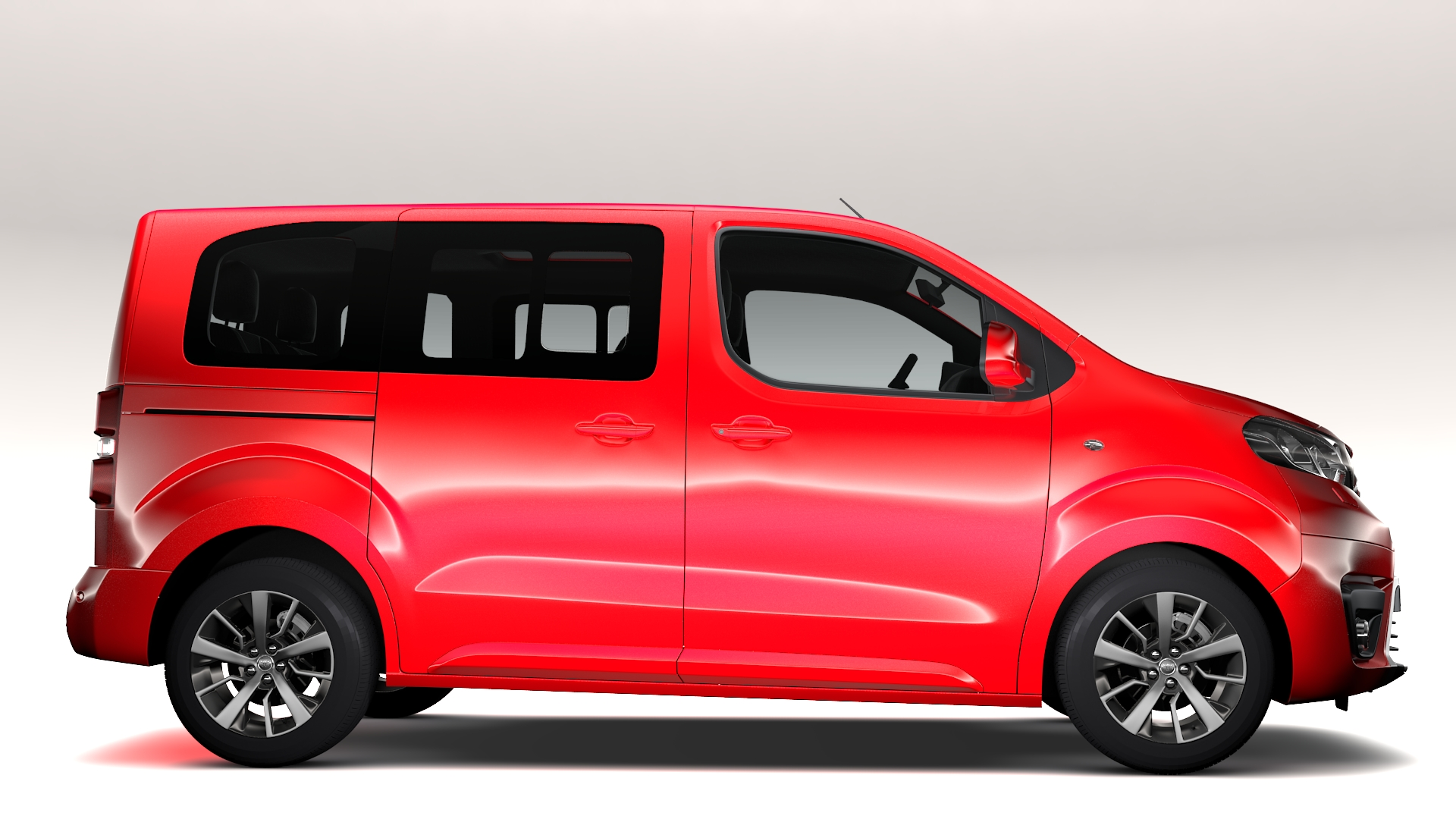 toyota proace verso l1 2017 3d model buy toyota proace verso l1 2017 3d model flatpyramid. Black Bedroom Furniture Sets. Home Design Ideas