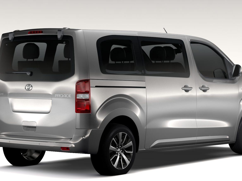 Toyota toyota proace : Toyota ProAce Verso L2 2017 3D Model – Buy Toyota ProAce Verso L2 ...