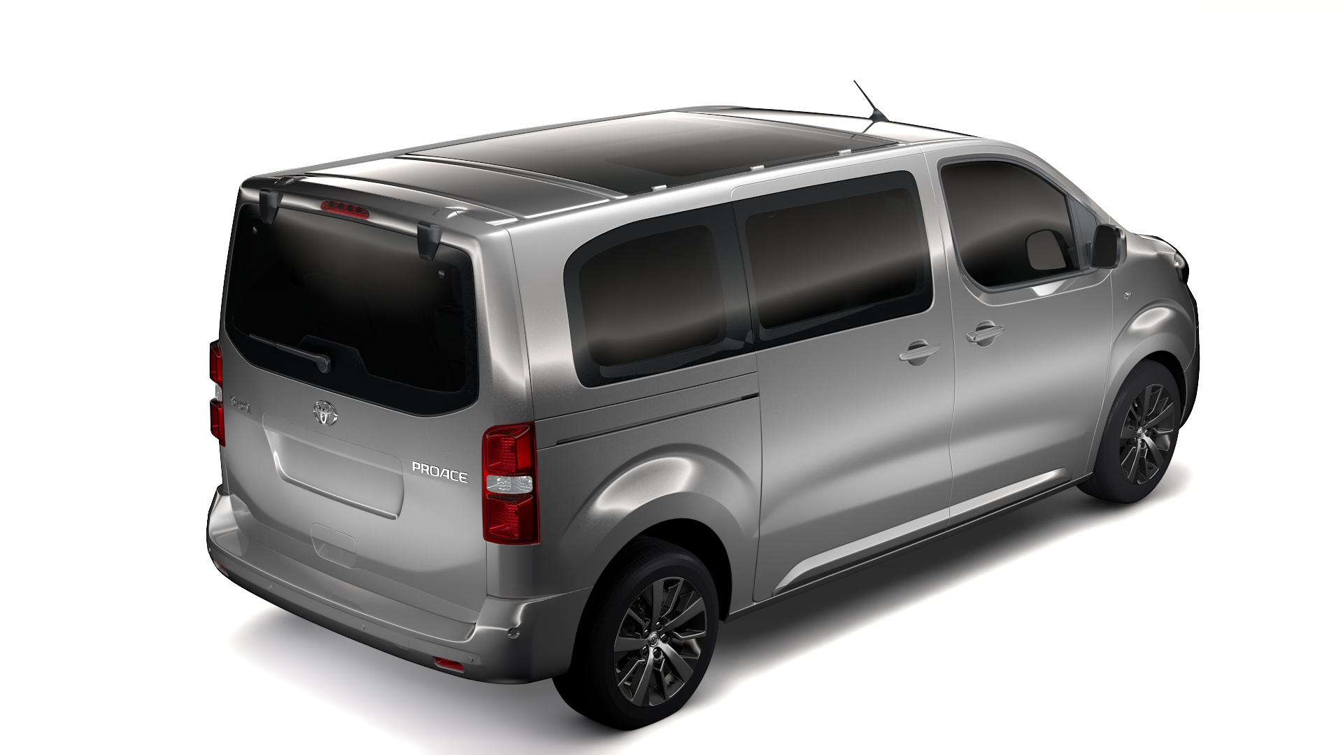 toyota proace verso l2 2017 3d model flatpyramid. Black Bedroom Furniture Sets. Home Design Ideas