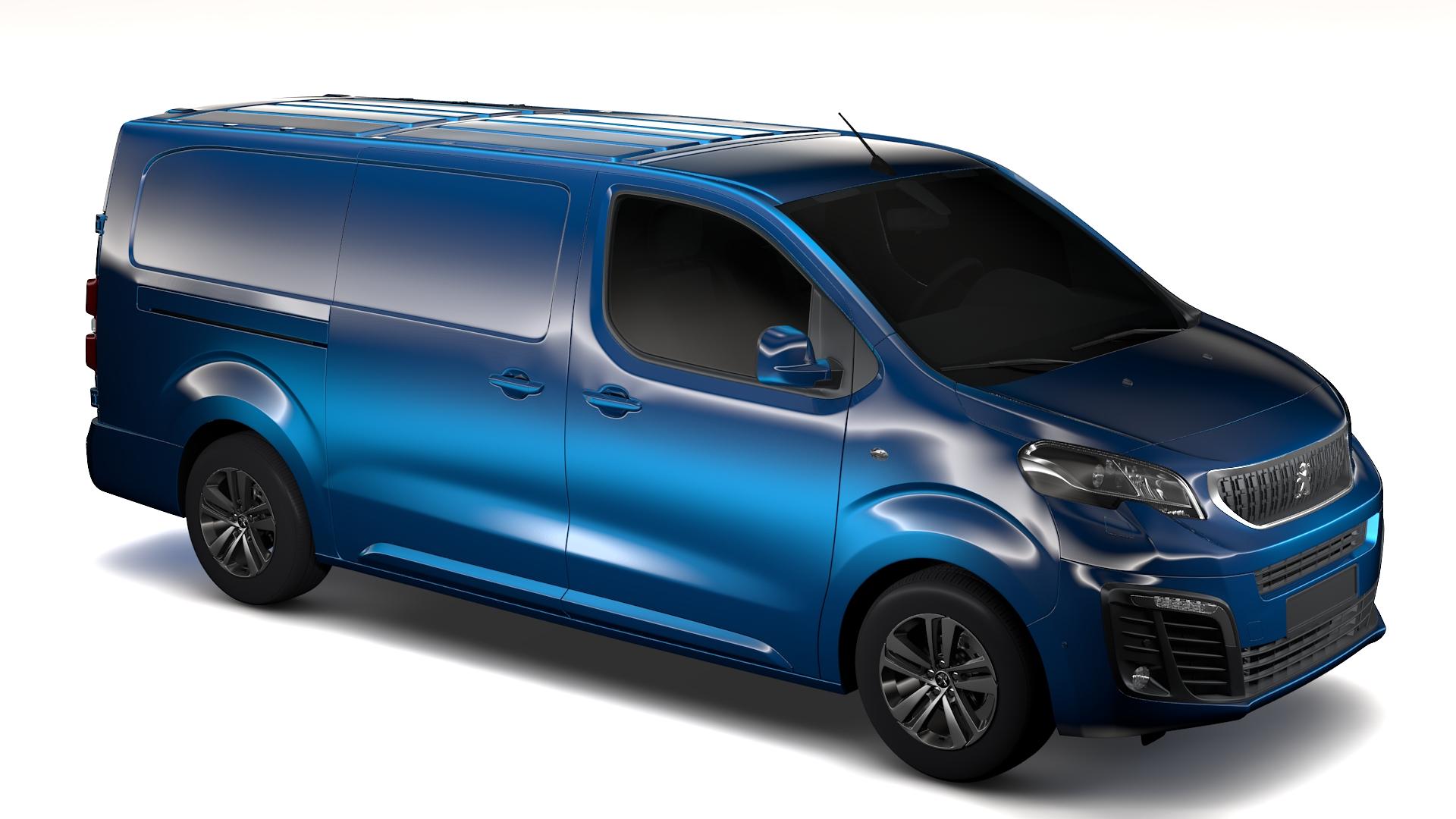 Peugeot Expert L3 2017 3d Model