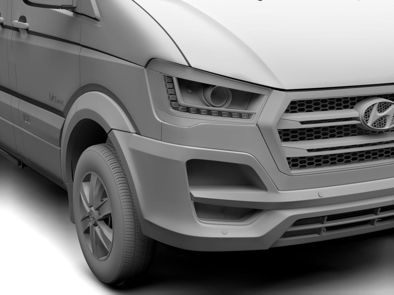 hyundai h350 mikroautobuss 2017 3d modelis 3ds maks.