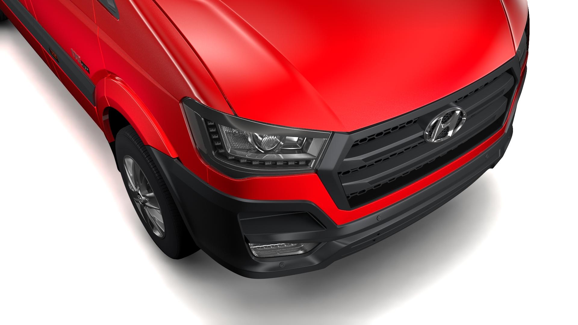 hyundai h350 van swb 2017 3d modelis 3ds maks.