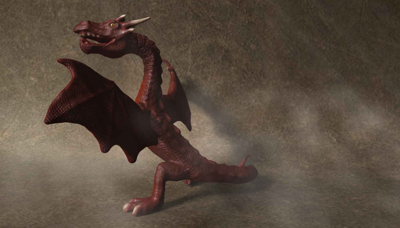 red dragon rigged 3d model max fbx  obj 224253
