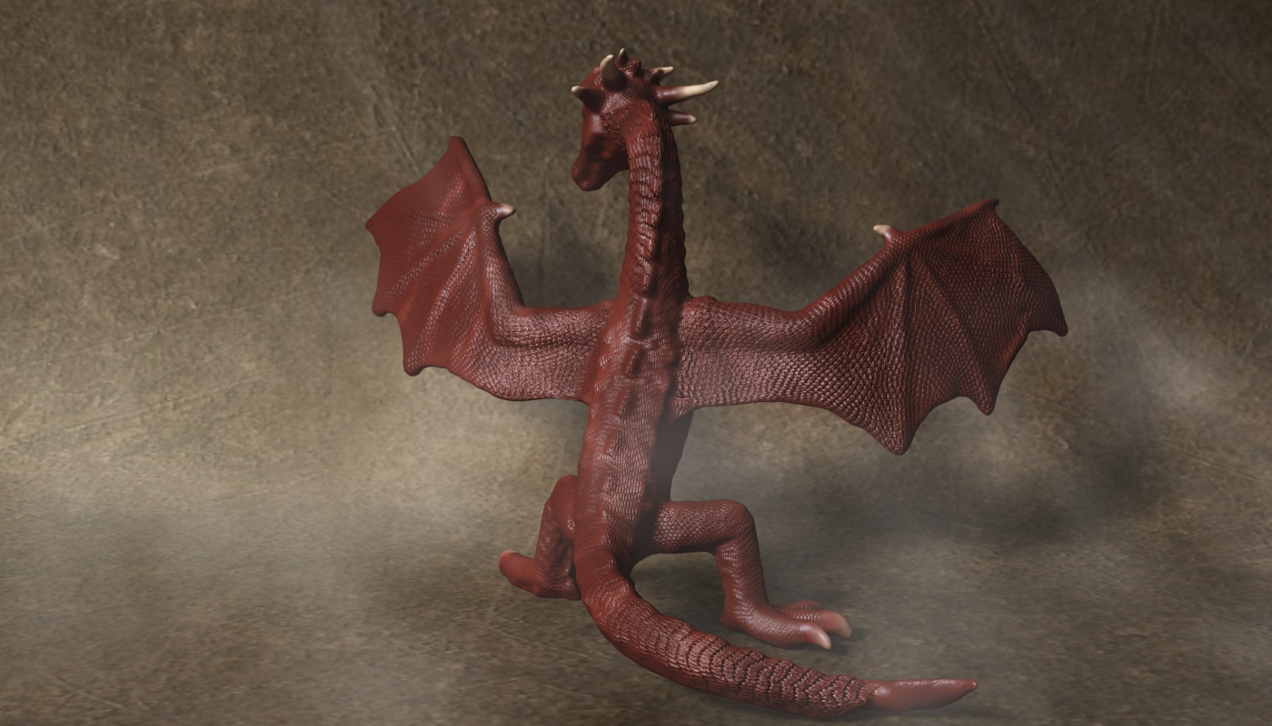 red dragon rigged 3d model max fbx  obj 224254