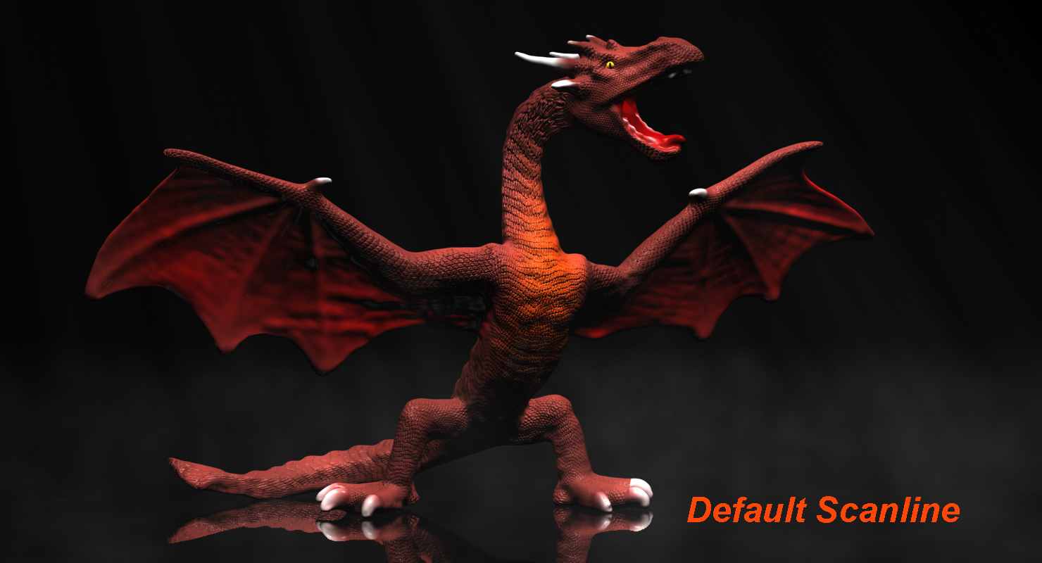 red dragon rigged 3d model max fbx  obj 224257