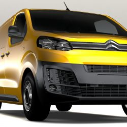 Citroen Jumpy L3 2017 3d model 0