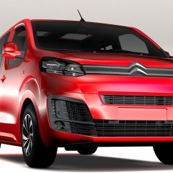 Citroen SpaceTourer L1 2017 3d model 0