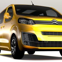 Citroen SpaceTourer L3 2017 3d model 0