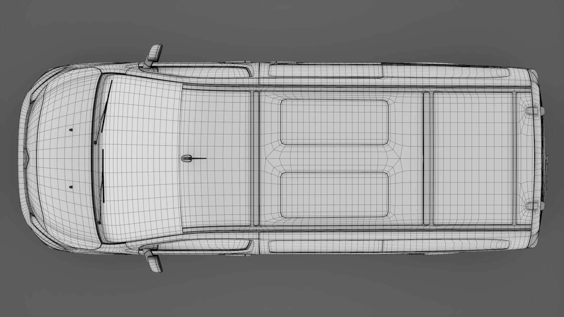 citroen spacetourer l3 2017 3d model 3ds max fbx c4d lwo ma mb hrc xsi obj 224384