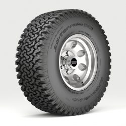 Off road wheel and tire 3d model 0