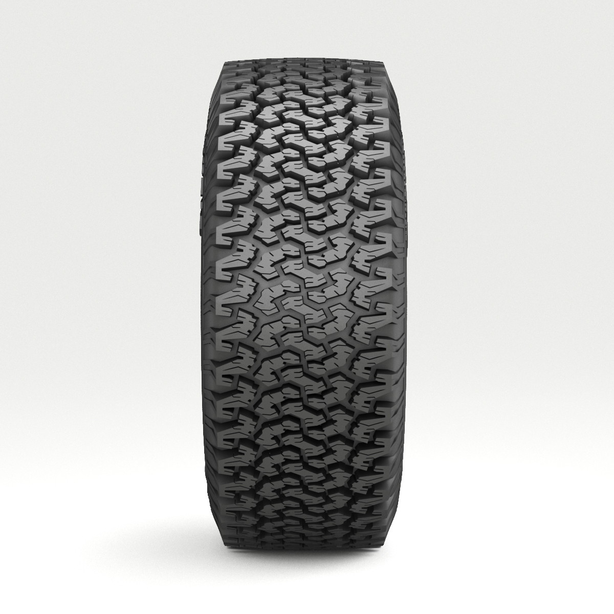 off road wheel and tire 3d model 3ds max fbx obj 224392