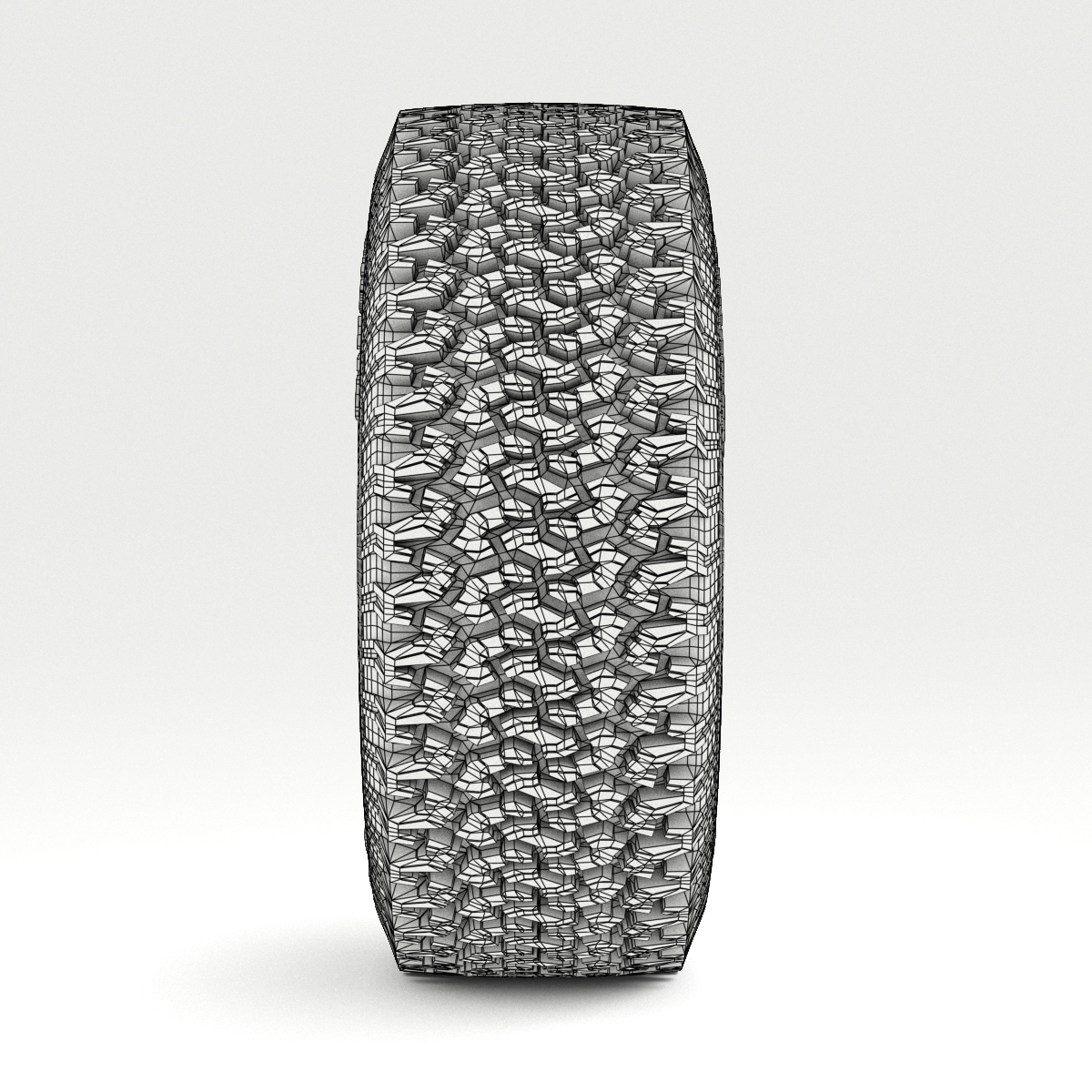 off road wheel and tire 3d model 3ds max fbx obj 224398