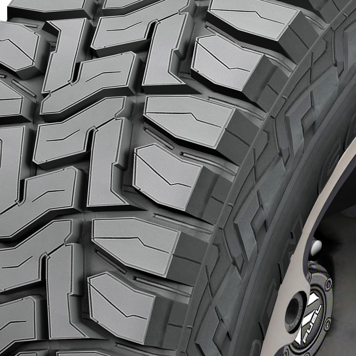 off road wheel and tire 2 3d model 3ds max fbx tga targa icb vda vst pix obj 224414