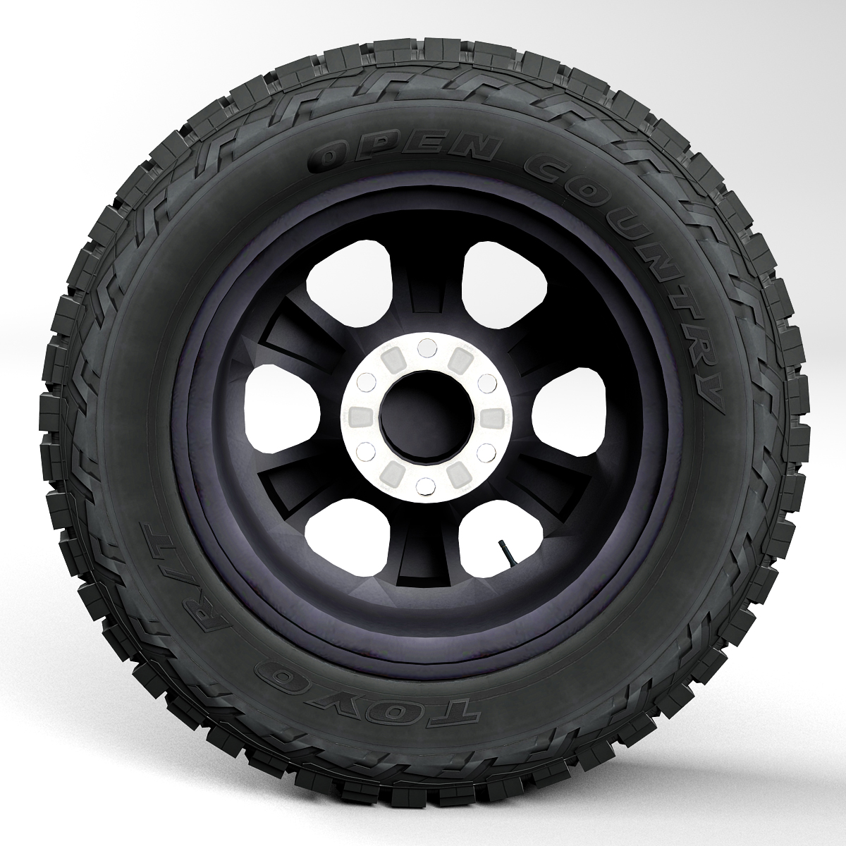 off road wheel and tire 2 3d model 3ds max fbx tga targa icb vda vst pix obj 224416