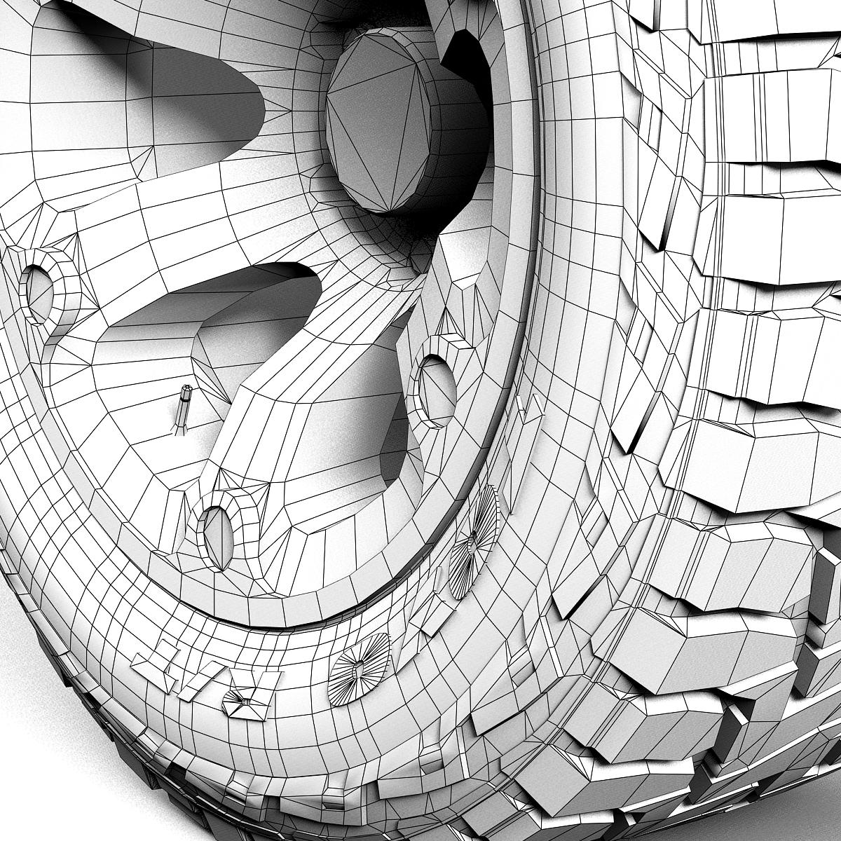 off road wheel and tire 2 3d model 3ds max fbx tga targa icb vda vst pix obj 224423