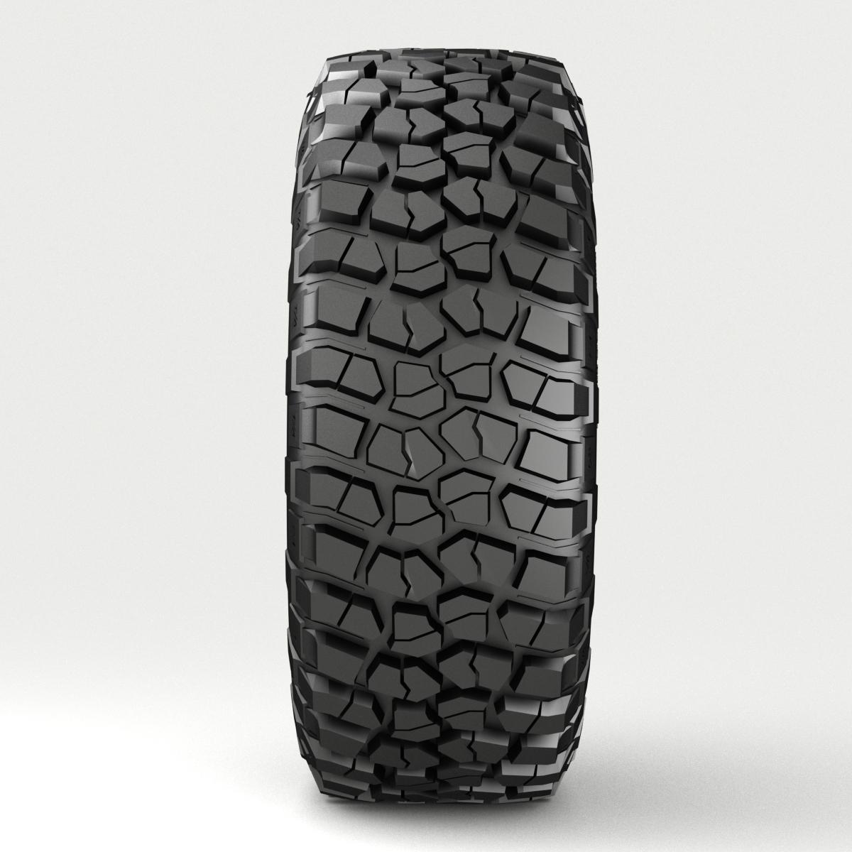 off road wheel and tire 3 3d model 3ds max fbx tga targa icb vda vst pix obj 224447