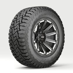 Off Road wheel and tire 4 3d model 0