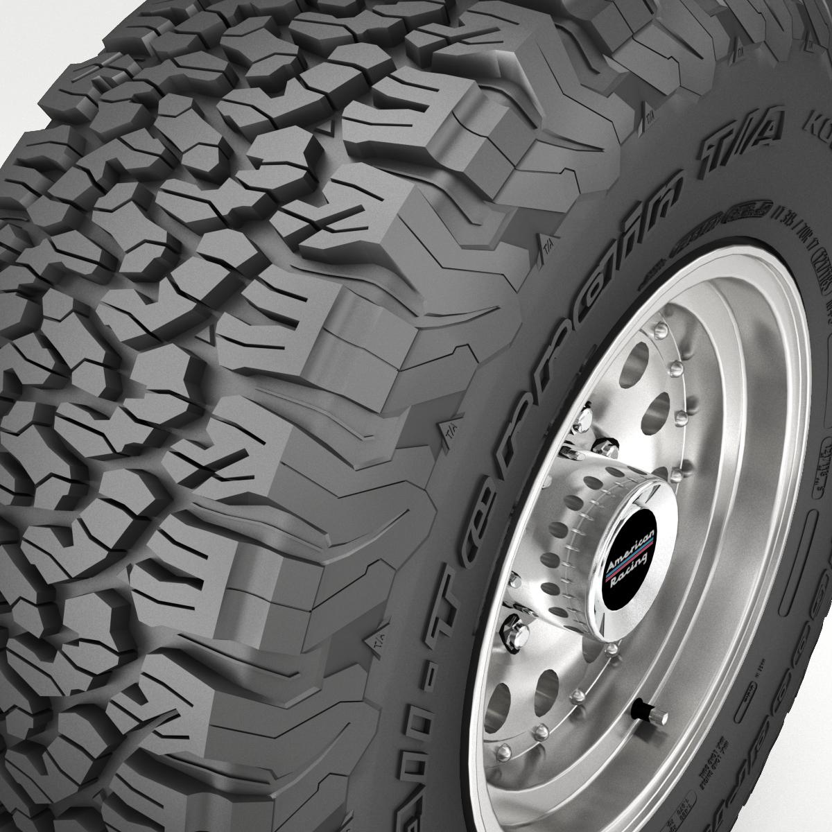 off road wheel and tire 5 3d model 3ds max fbx tga targa icb vda vst pix obj 224471