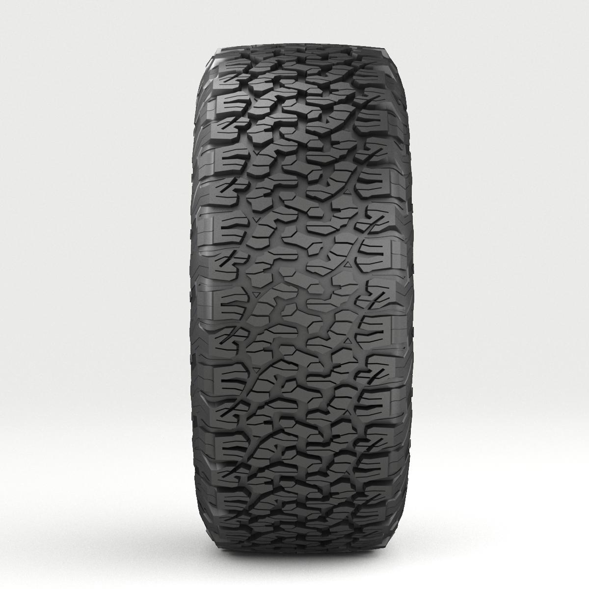 off road wheel and tire 5 3d model 3ds max fbx tga targa icb vda vst pix obj 224472
