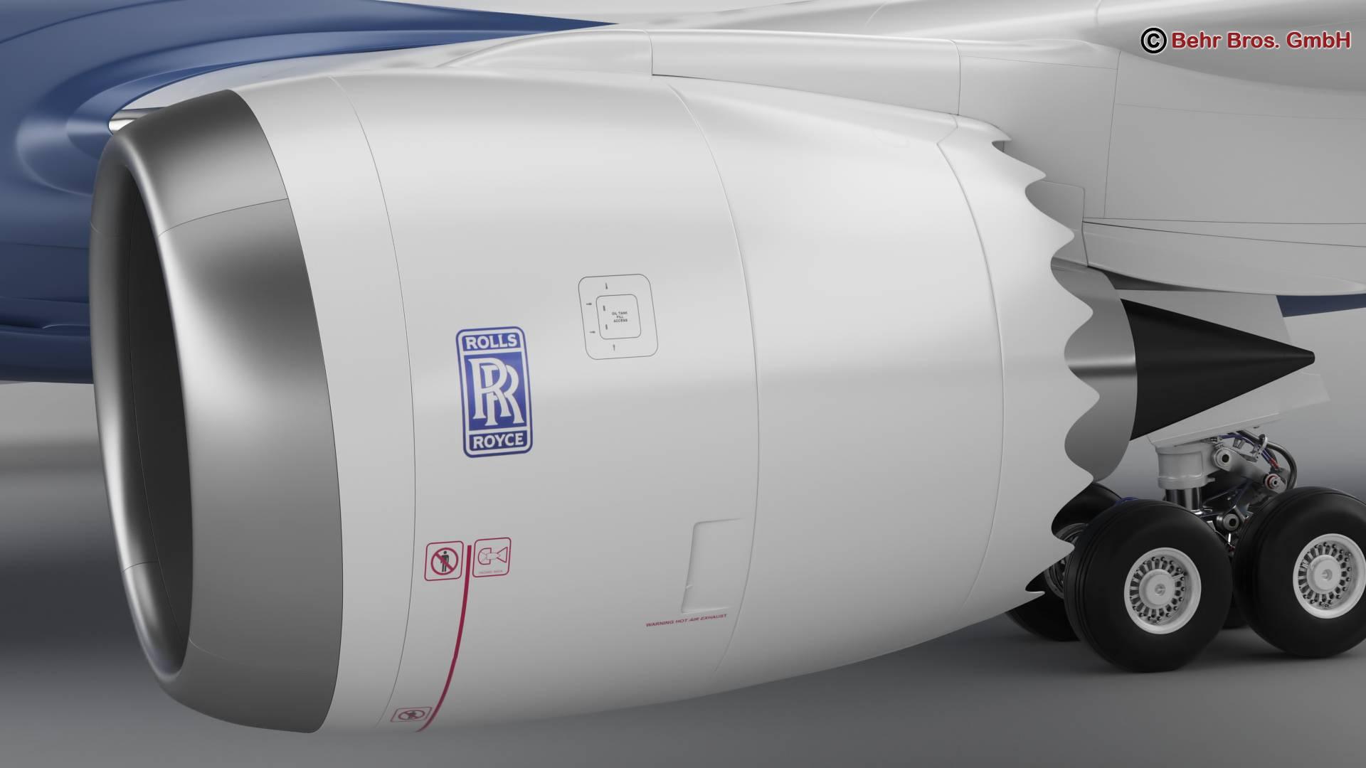 Boeing 787-8 3d gerð 3ds max fbx c4d lwo ma mb obj 251353