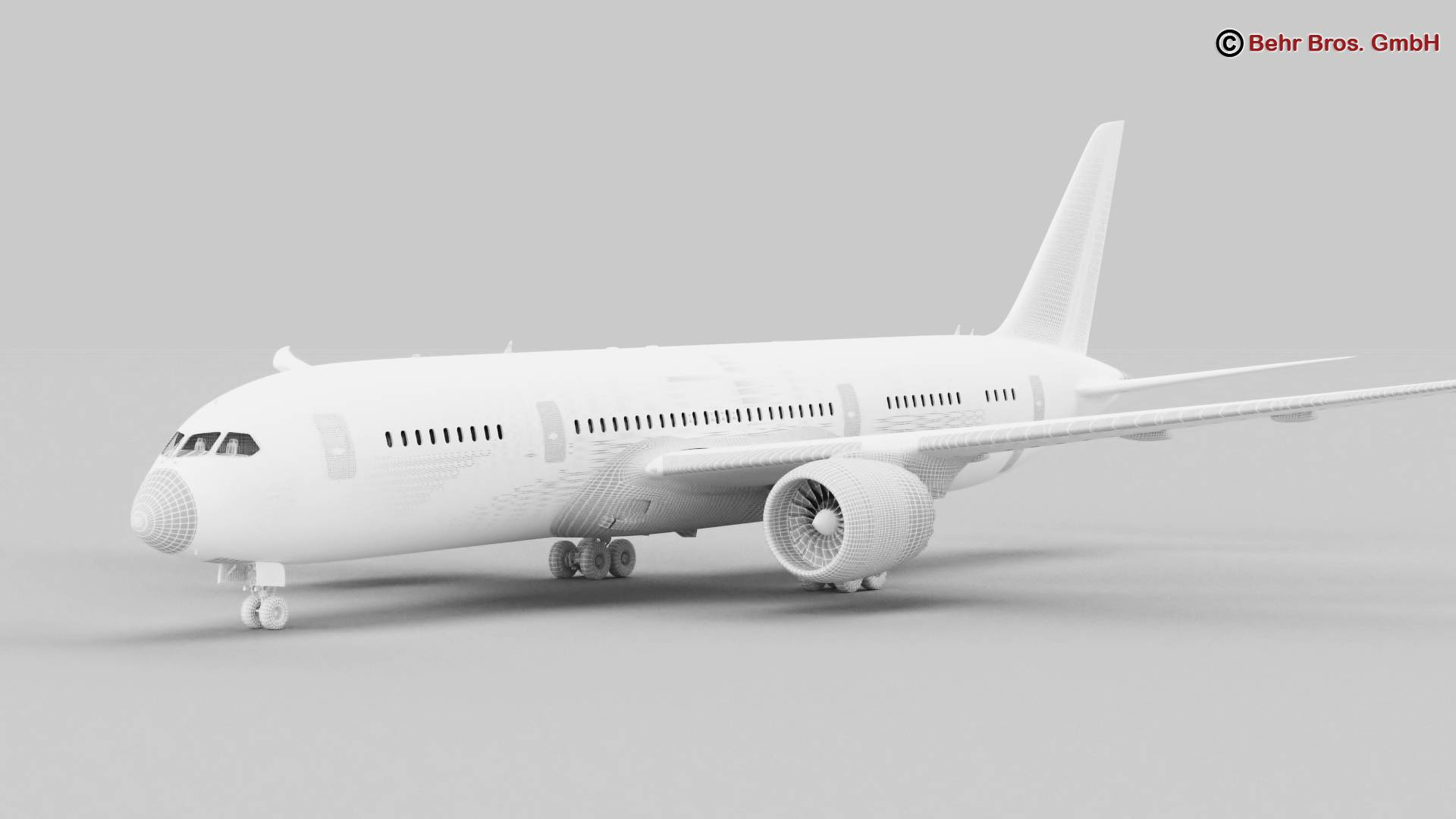 Boeing 787-8 3d gerð 3ds max fbx c4d lwo ma mb obj 251372