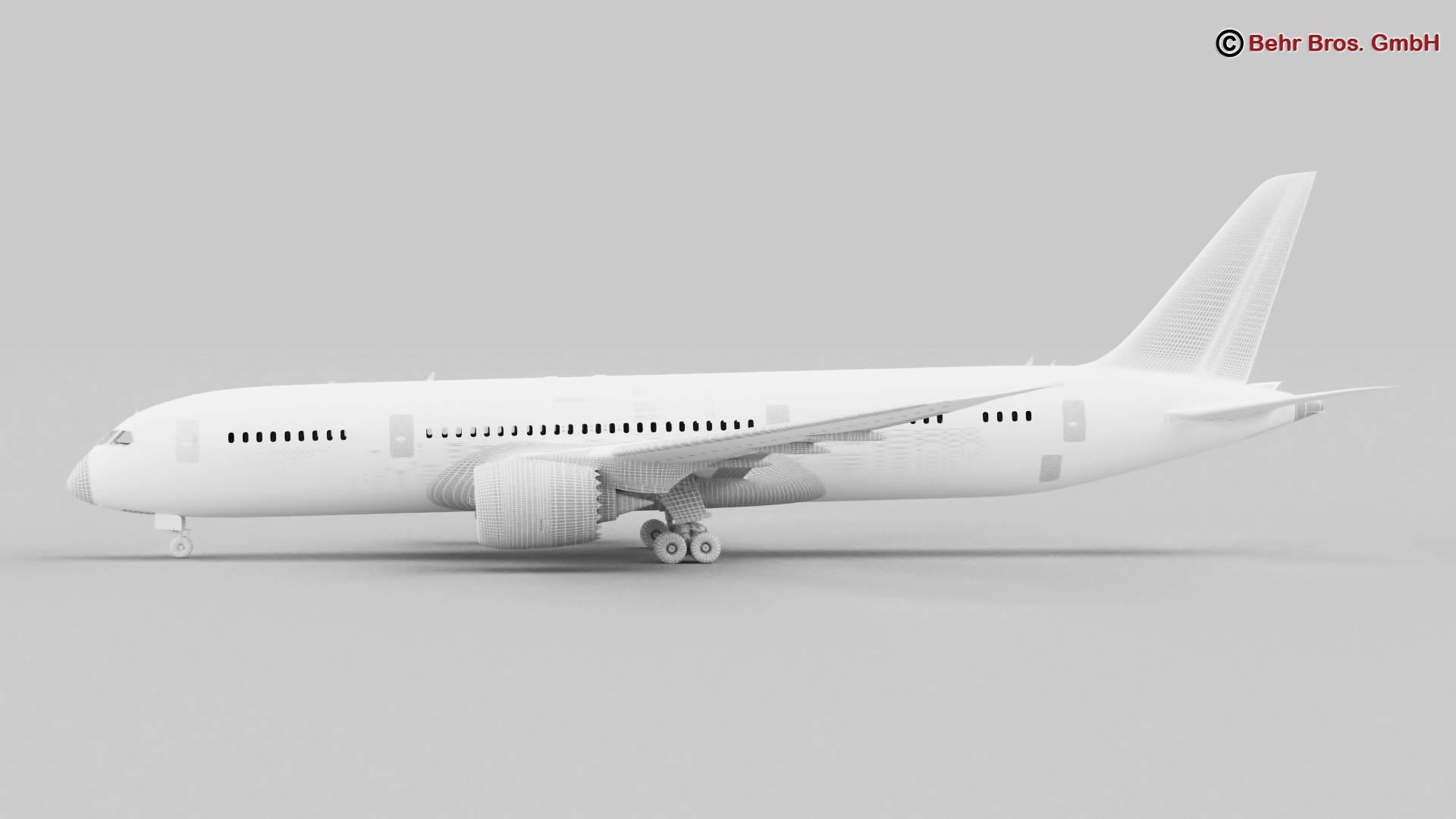 boeing 787-8 3d model 3ds max fbx c4d lwo ma mb obj 251373