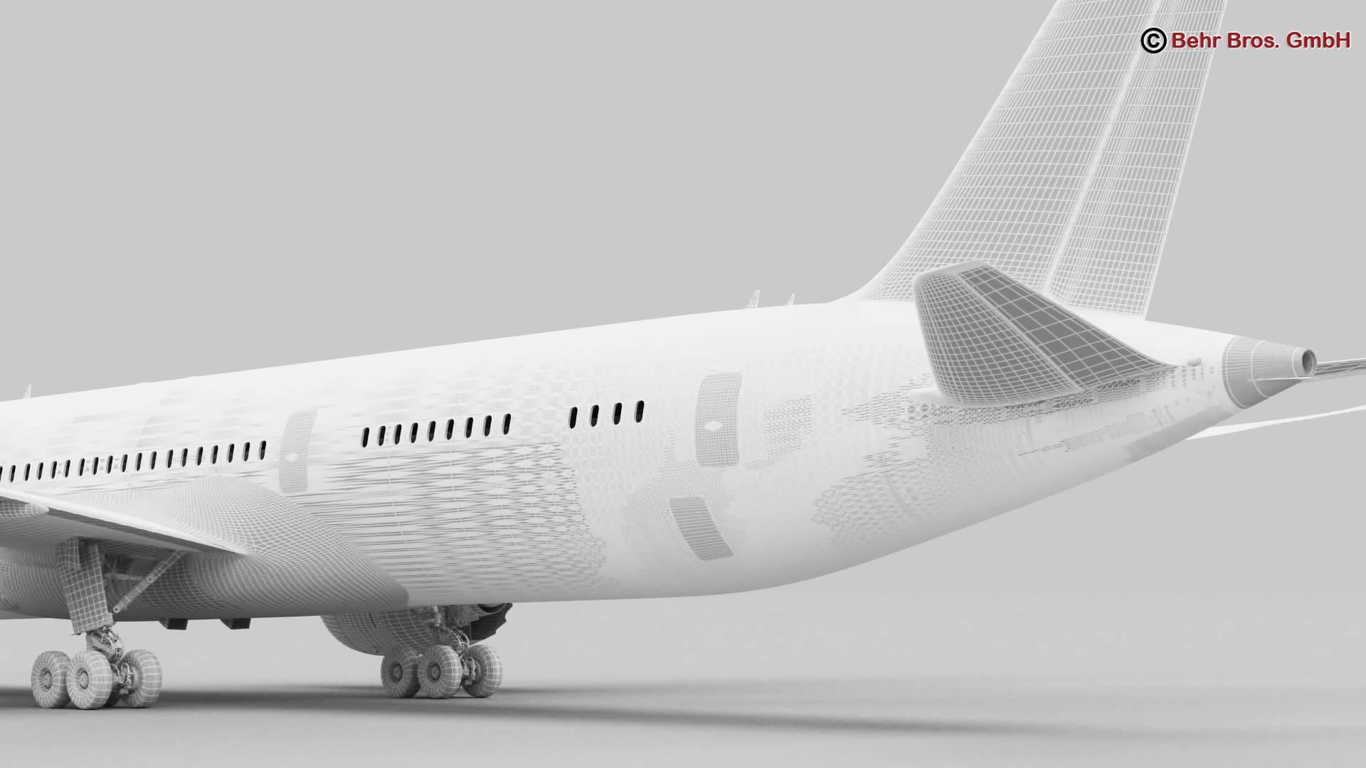 Boeing 787-8 3d gerð 3ds max fbx c4d lwo ma mb obj 251376