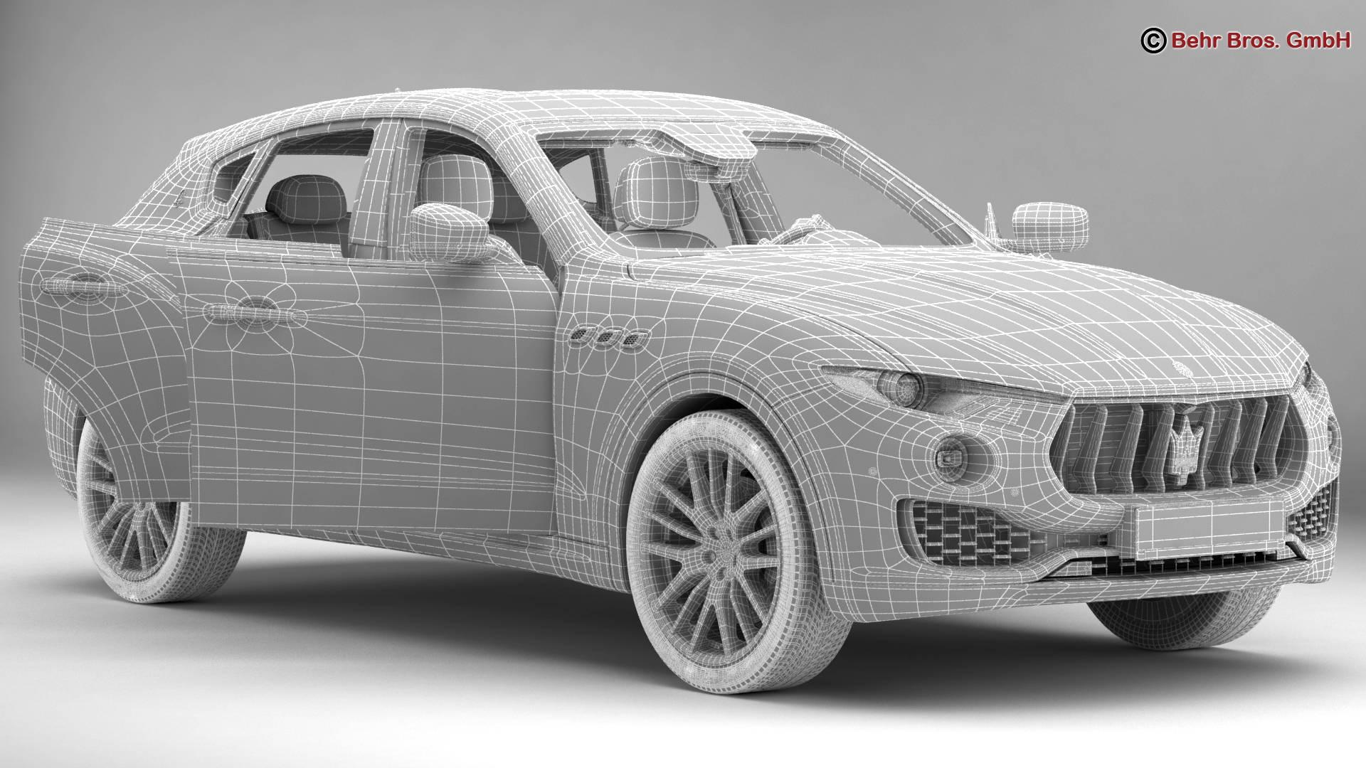 Maserati Levante 2017 3D Model – Buy Maserati Levante 2017 3D Model ...